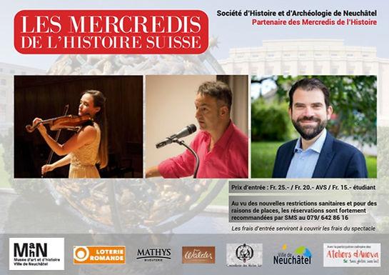 Les mercredis de l'histoire : Suisse et Société des Nations