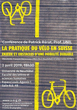 La pratique du vélo en Suisse