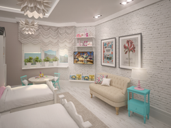 ИНТЕРЬЕРНАЯ КОНТОРА Дизайн детской комнаты для Евы и Саши3