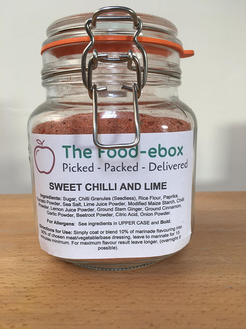 Sweet Chilli & Lime Marinade Flavouring - 50g