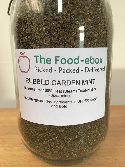 Rubbed Garden Mint - 20g