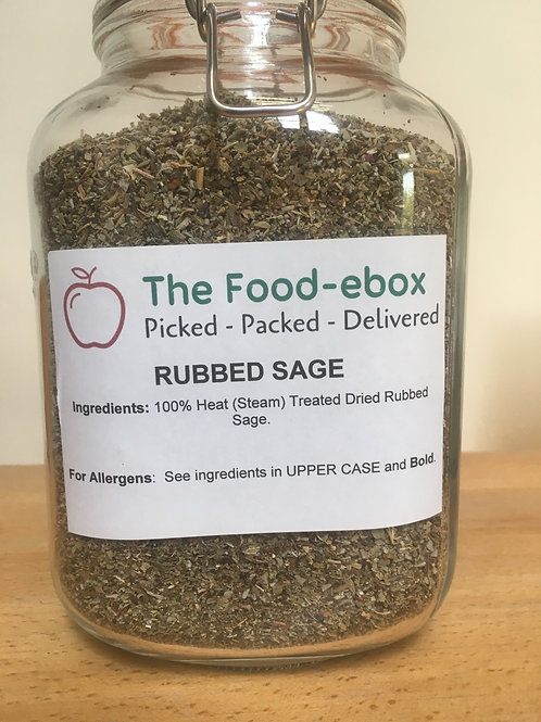 Rubbed Sage 20g