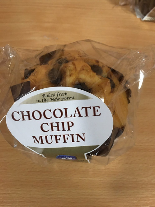 Chocolate Chip Luxury Muffin