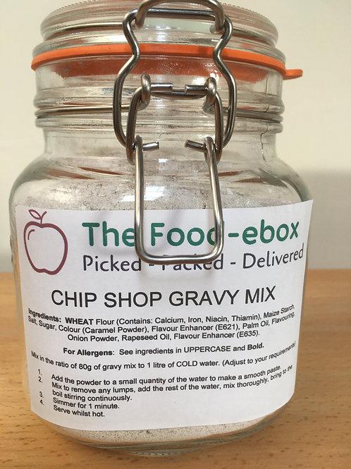 Chip Shop Gravy Powder Sauce Mix - 80g