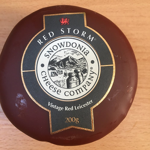 200g Red Storm - Aged Red Leicester