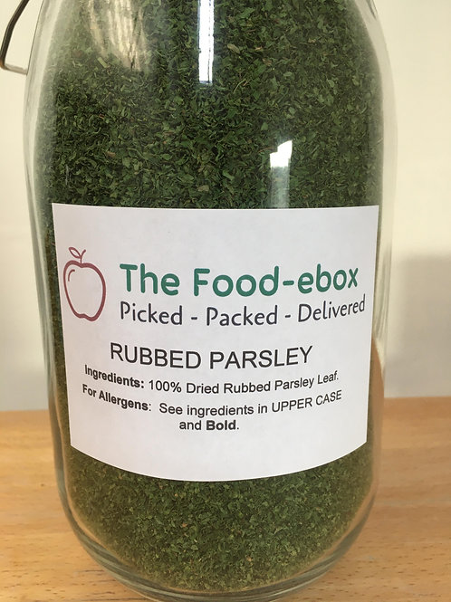 Rubbed Parsley - 15g