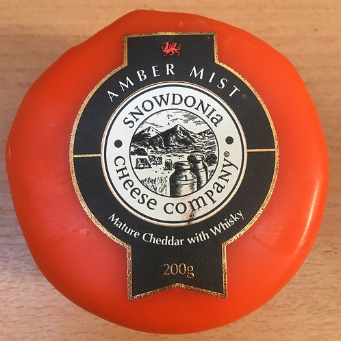 200g - Amber Mist - Cheddar and Whisky