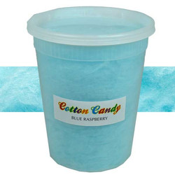 cotton candy blue raspberry 32 oz tub