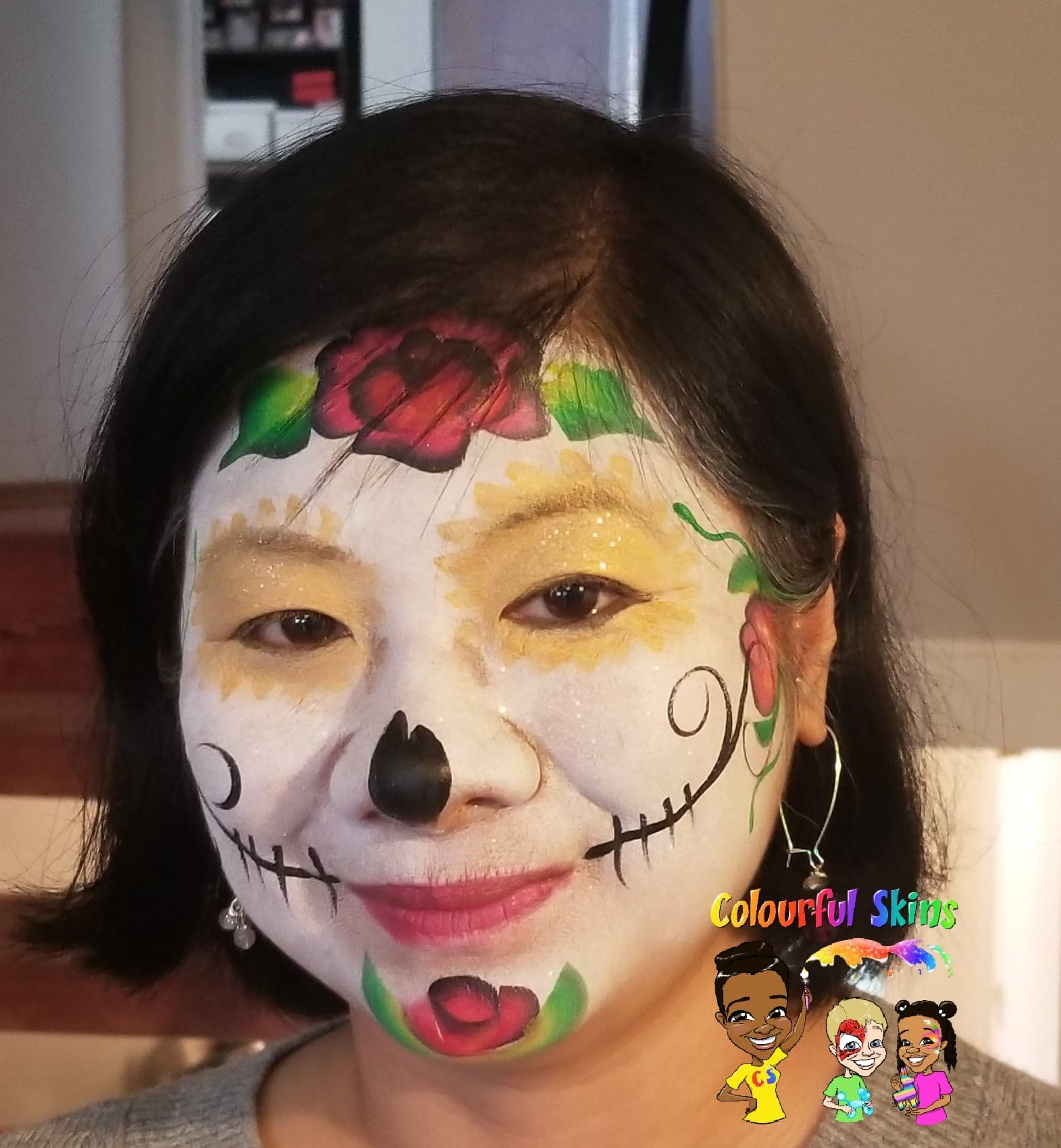 Face painting by Colourful Skins