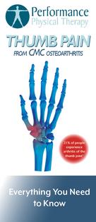 Thumb Pain Brochure