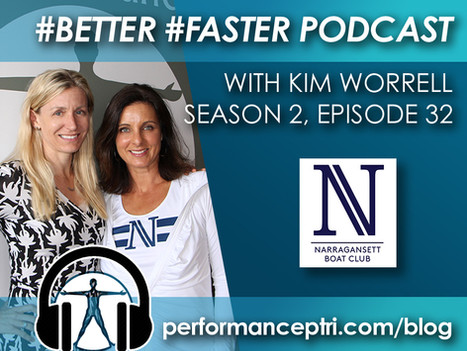 #Better #Faster Podcast- Kim Worrell- Rowing