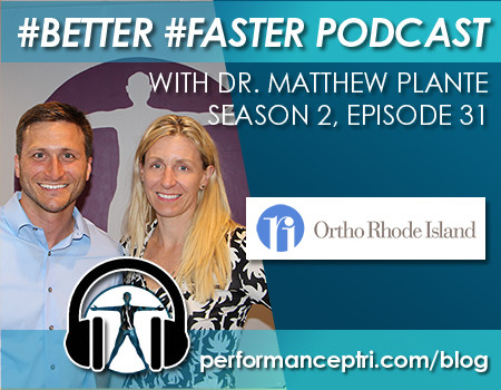 #BETTER #FASTER Podcast- Dr. Matthew Plante- Rotator Cuff Injuries
