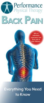Back Pain Brochure