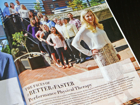 Performance Physical Therapy Featured in Rhode Island Monthly