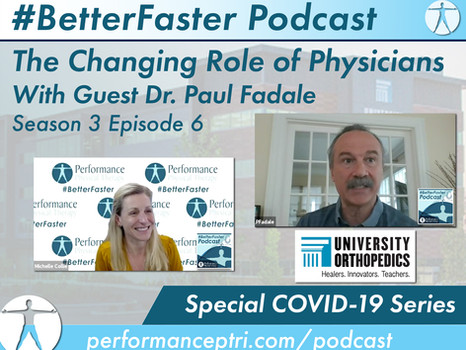 #BetterFaster Podcast - The Changing Role of Physicians - Dr. Paul Fadale