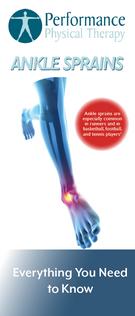 Ankle Sprains Brochure