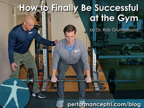 How to finally be successful at the gym