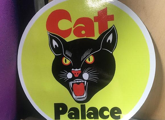 Black Cat Sticker - XLarge