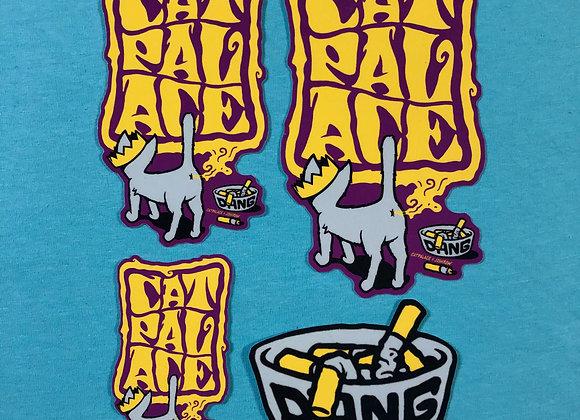 Cat Palace x Josh Row Sticker Pack