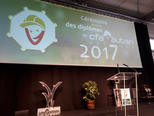 Remise des diplômes au CFA Vauban