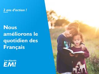 2017-2019 - 2 ans d'action pour améliorer le quotidien des Français