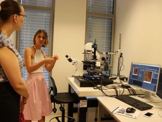 BESANÇON - Visite du laboratoire FEMTO dans le cadre des 80 ans du CNRS