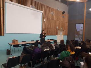 BESANÇON - Echanges avec les élèves du Collège Diderot de Planoise