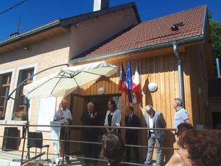 CADEMENE - Visite d'exploitation agricole et inauguration de la nouvelle mairie