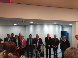 Inauguration de la Maison de Services Au Public de Planoise