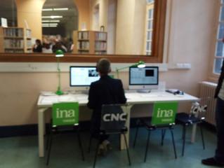Postes INA et CNC à la Bibliothèque Universitaire Lettres et Sciences humaines