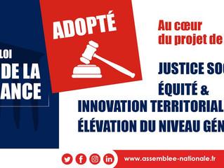 EDUCATION - Le projet de loi pour une école de la confiance définitivement adopté !