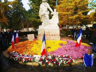 Commémorations du centenaire de l'armistice de 1918