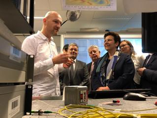 La Ministre de l'Enseignement supérieur et de la Recherche en visite à Besançon