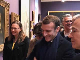 BESANÇON - Inauguration du Musée des Beau-Arts par le Président de la République