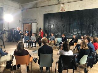 ORNANS - Inauguration de l'exposition Courbet et échanges sur le Pass Culture avec le Président
