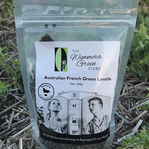 Australian French Green Style Lentils 350g