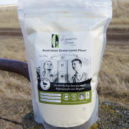 Australian Green Lentil Flour 500g