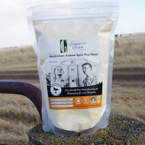 Australian Yellow Split Pea Flour  500g