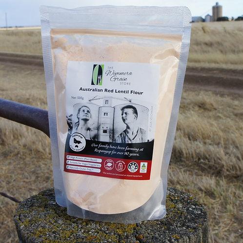 Australian Red Lentil Flour 500g- 5 per box