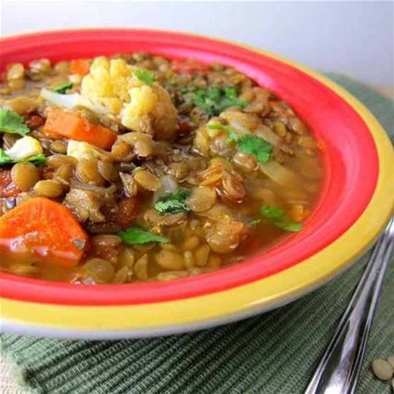 Pulse Raisers Lentil And Cauliflower Soup
