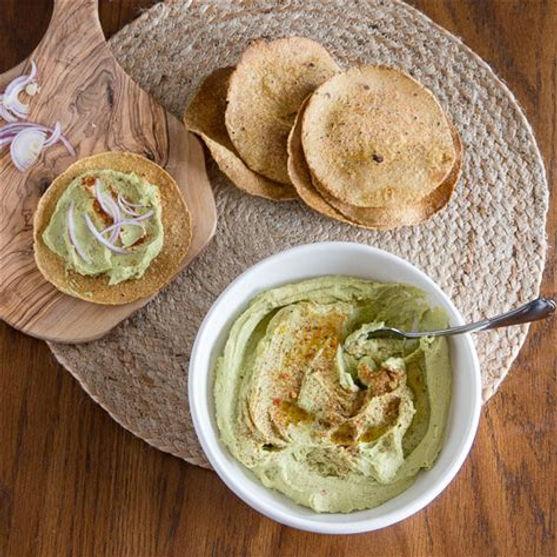 Faba Bean Hummus Dip