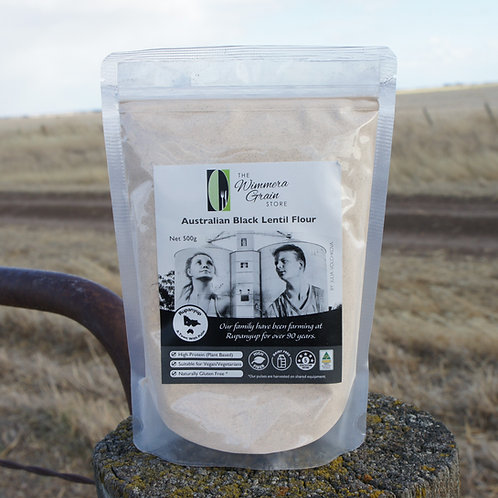 Australian Black Lentil Flour  500g