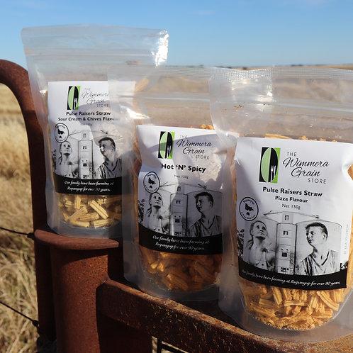 Pulse Raiser Plant Based Snacks Discovery Box  3 x Snacks