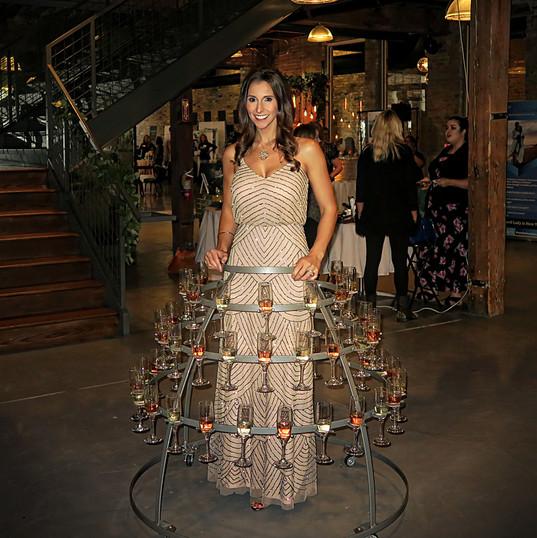 Wedtoberfest Strolling Champagne Skirt