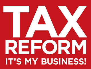 NEWS ON SMALL BUSINESS TAX REFORM!
