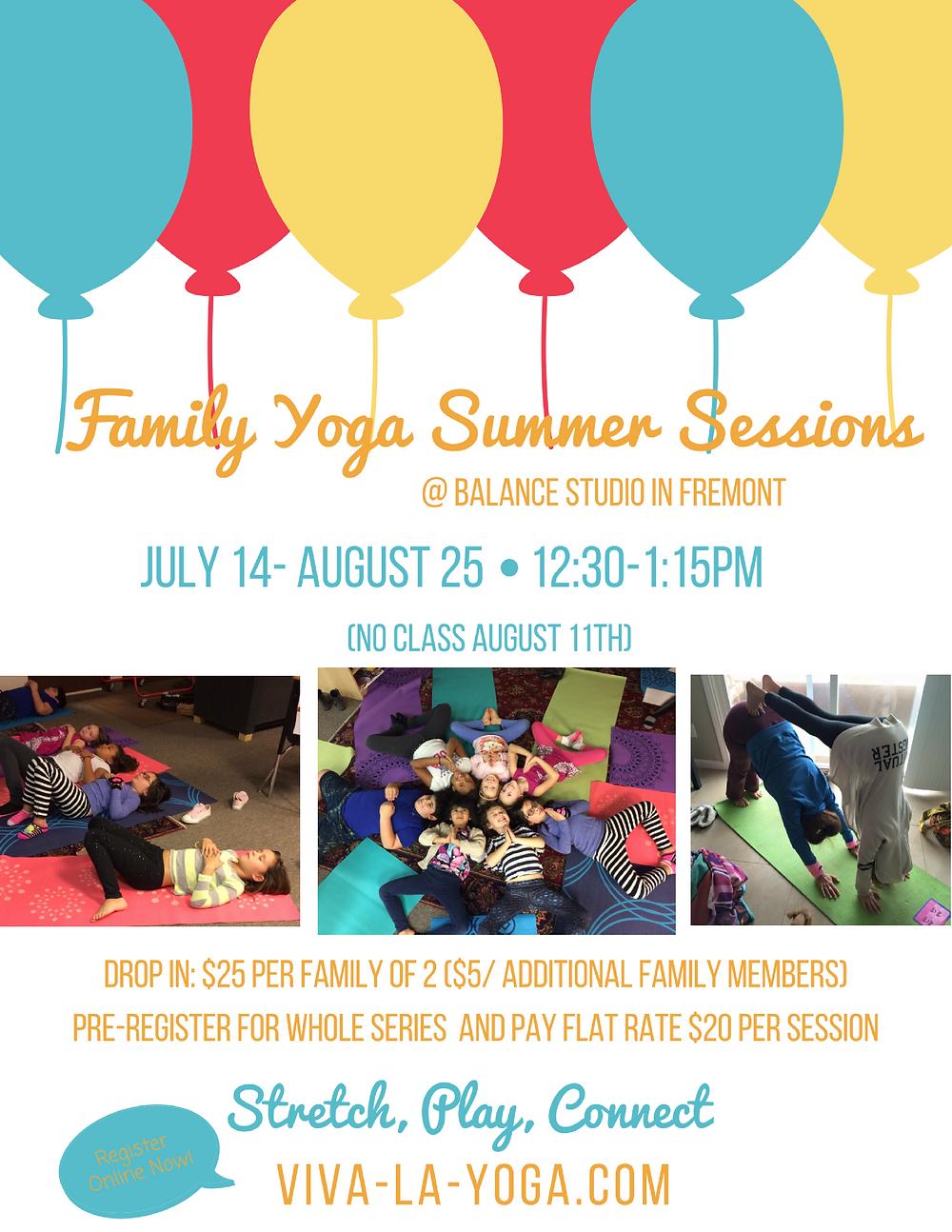Family Yoga in Fremont