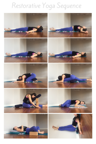 Restorative Yoga Sequence and Playlist