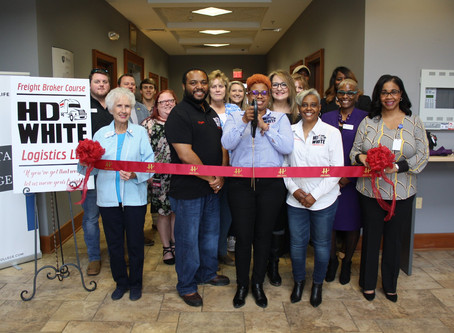 Ribbon Cutting for H.D. White Logistics