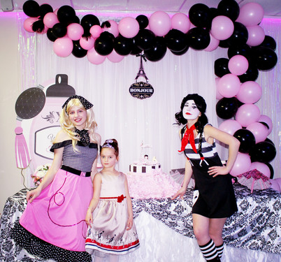 Mime and Barbie