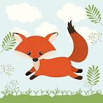storyblocks-fox-cute-woodland-icon-vecto